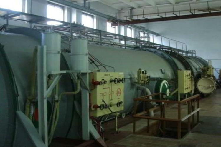 Барокамеру для эксперимента построили в городе Ломоносов. ФОТО: предоставлено Северо-Западной организацией Федерации космонавтики России
