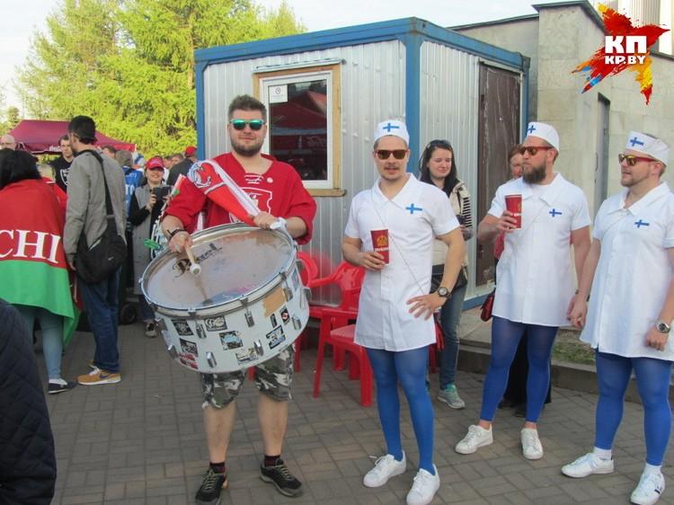 После дебютного матча с белорусами финские болельщики были счастливы