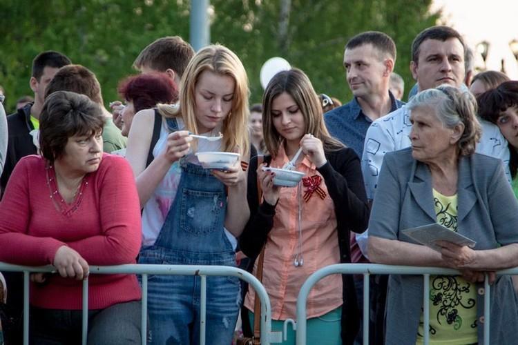 В Тамбовском Парке Победы отметили 9 мая