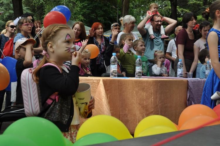Маленькие участники праздника