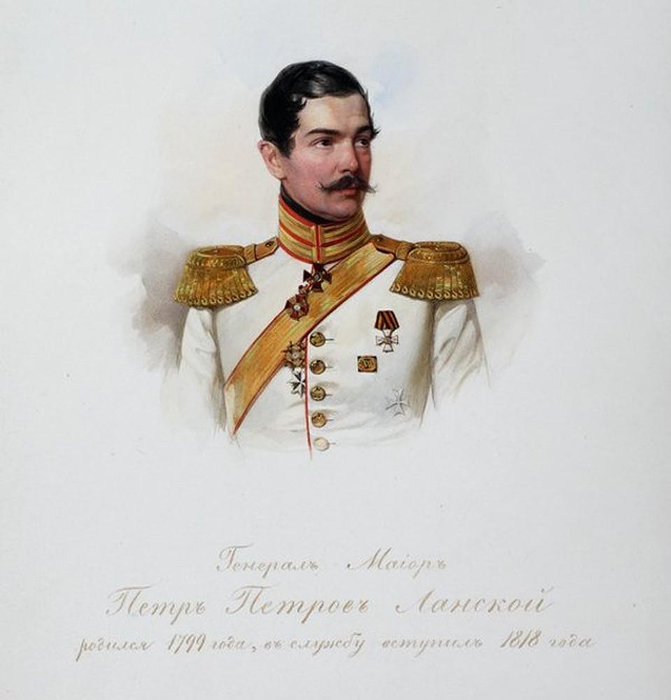 В.И. Гау. Портрет П.П. Ланского. 1847 г.