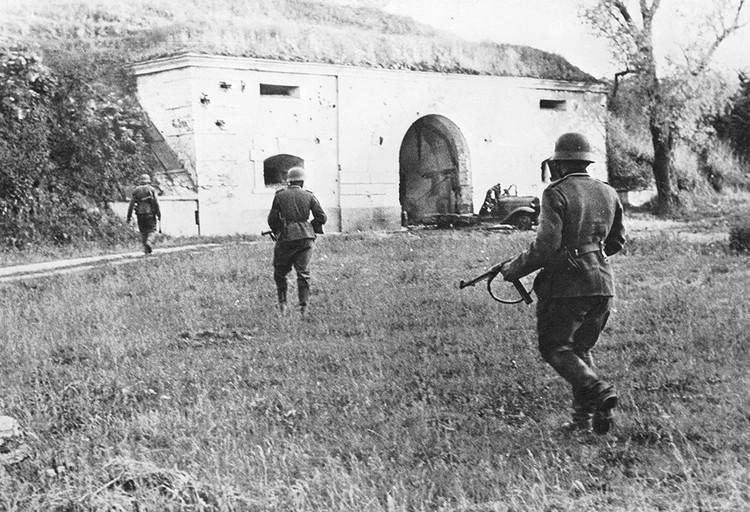 Немцы встретили ожесточенное сопротивление