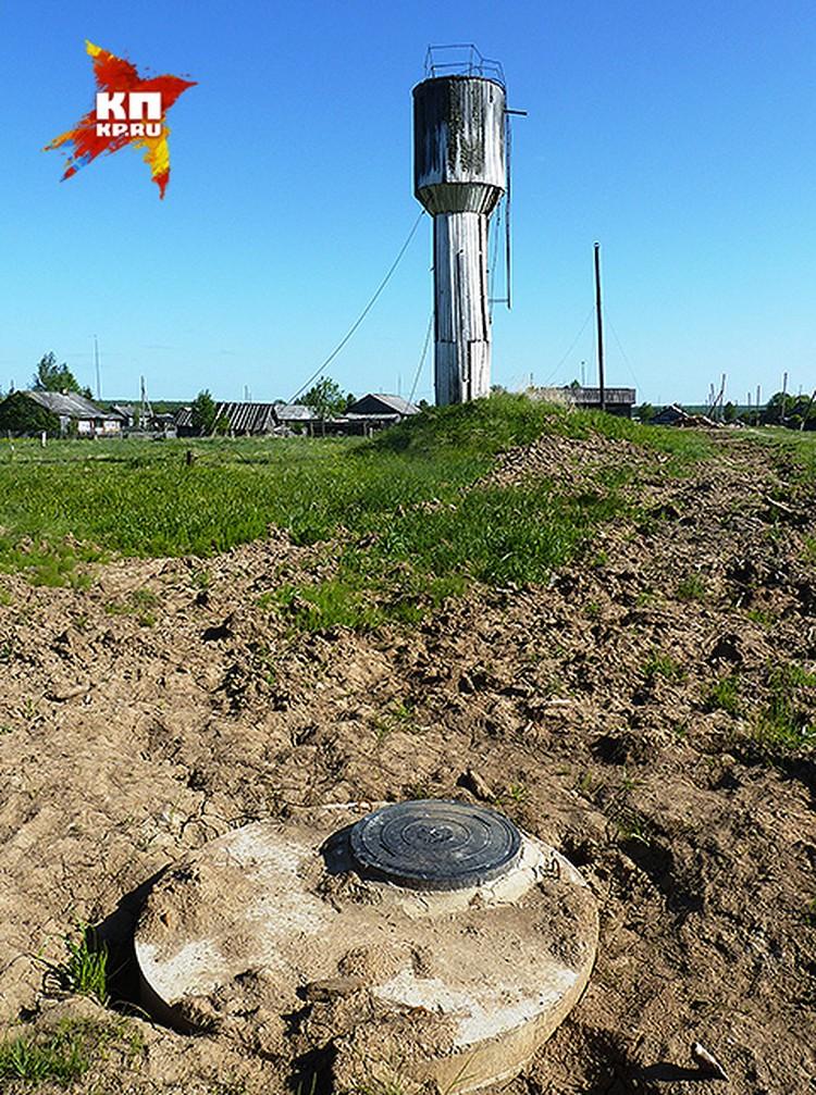 Дети потерялись на окраине Речного, где-то в районе этого колодца.