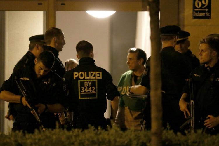 В Мюнхен были стянуты дополнительные силы полиции