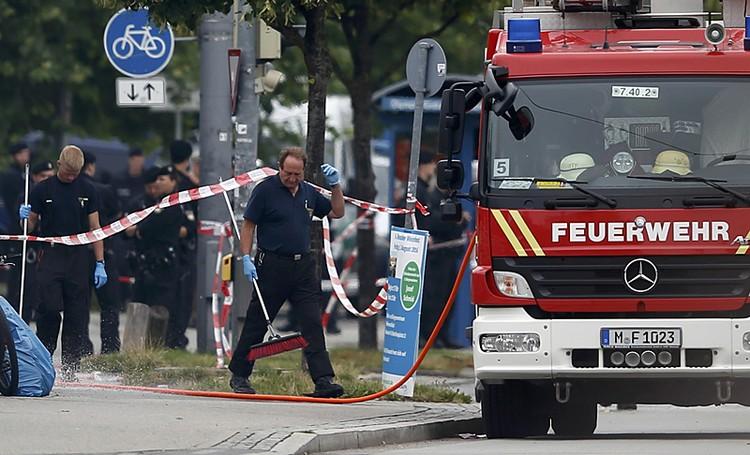 Жертвами стрельбы в Мюнхене стали 9 убитых