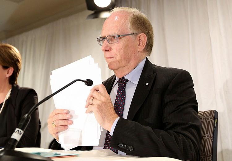 Все обвинения были основаны на докладе комиссии профессора Ричарда Макларена