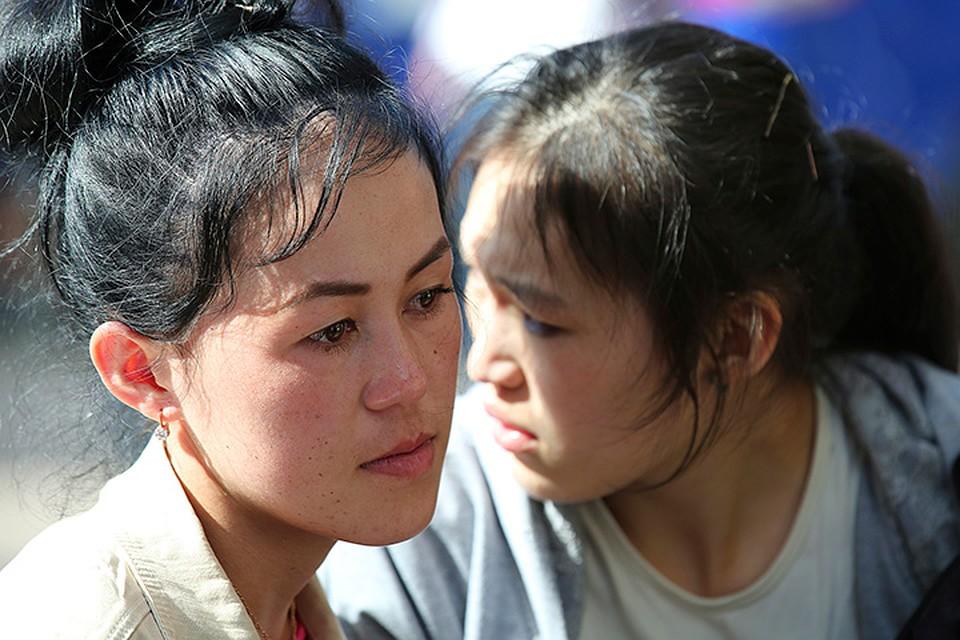 Большинство погибших в пожаре - девушки, гражданки Киргизии. ФОТО Петр Зуев/ТАСС