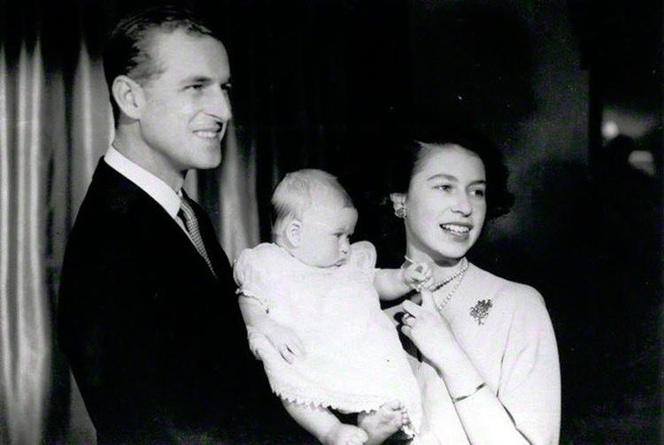 Крещение принца Чарльза