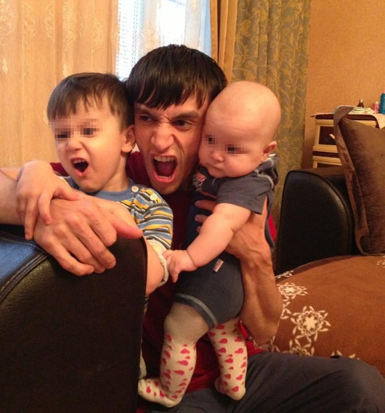 У погибшего лейтенанта остались двое маленьких деток. Фото: Ok.ru