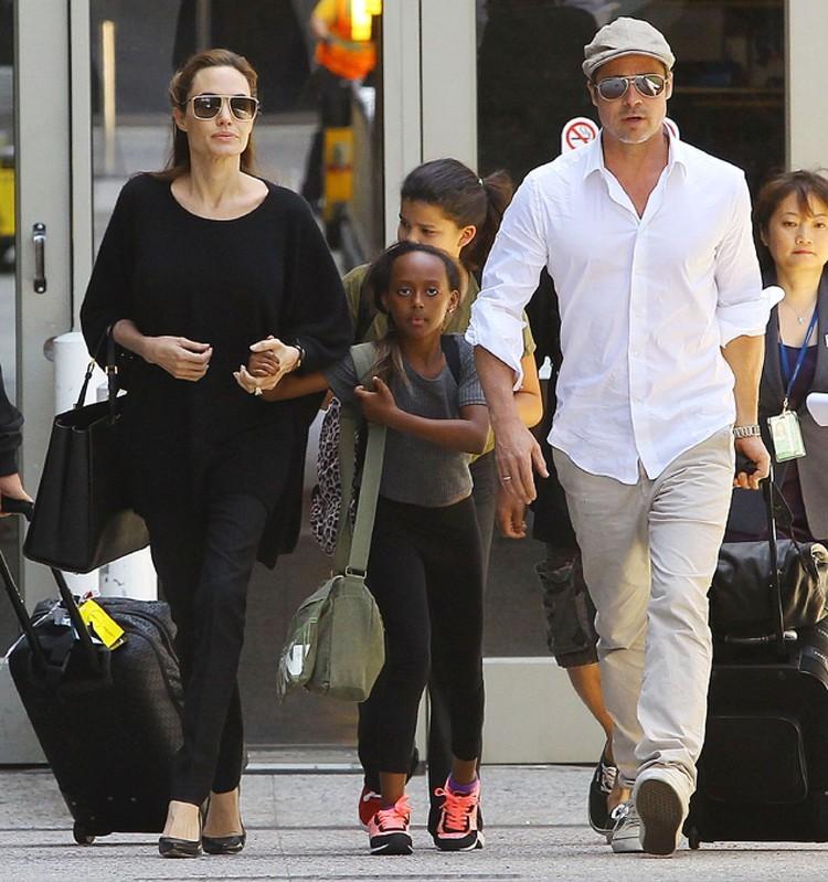 Анджелина и Брэд прожили вместе 12 лет, пара официально зарегистрировала свои отношения два года наза, в 2014-м.