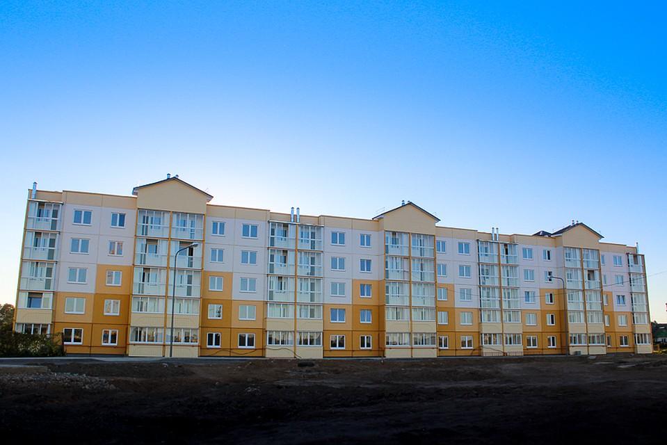Квартиры в жилом комплексе «Радужный» в Дзержинске.