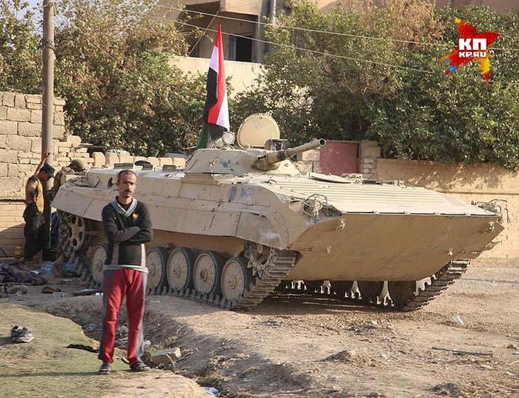 Бронетехника иракской армии.