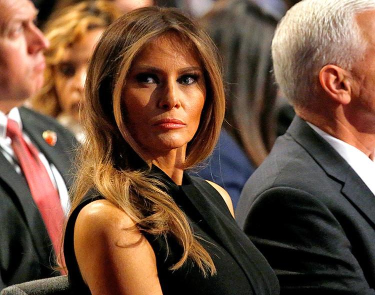 """Мелания Трамп: """"Я против ботокса, против любых инъекций красоты."""""""