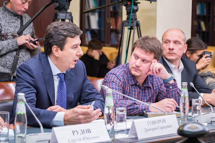 Вице-президент Русской Медной Компании Дмитрий Говоров. Фото: Юлиан ВИКТОРОВ