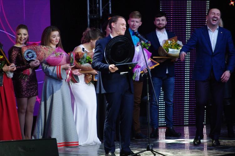 Победитель определился - Антон Святохин из Москвы. Награждение.