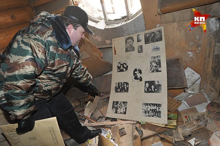 """Таким застали музей Зои Космодемьянской журналисты """"КП"""" несколько лет назад."""