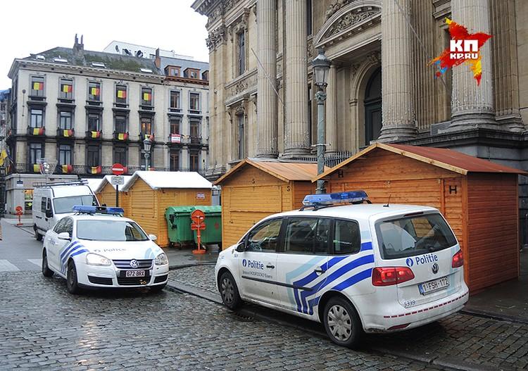 Все церкви Брюсселя находятся под круглосуточной охраной полицейских.