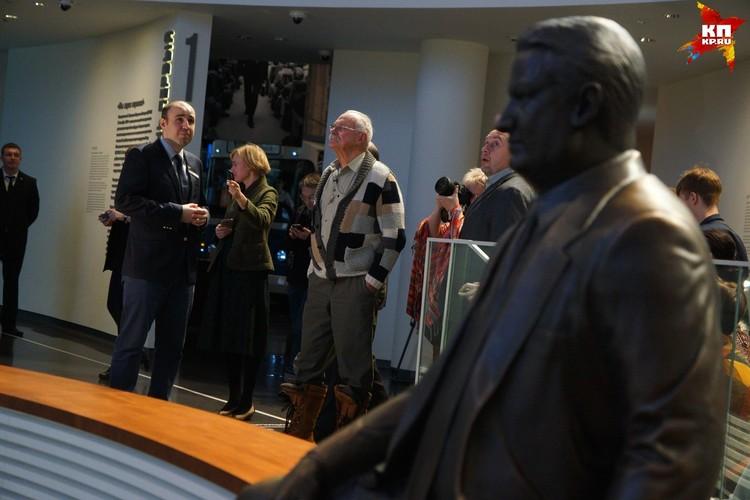 Никита Михалков впервые побывал в Центре первого президента России
