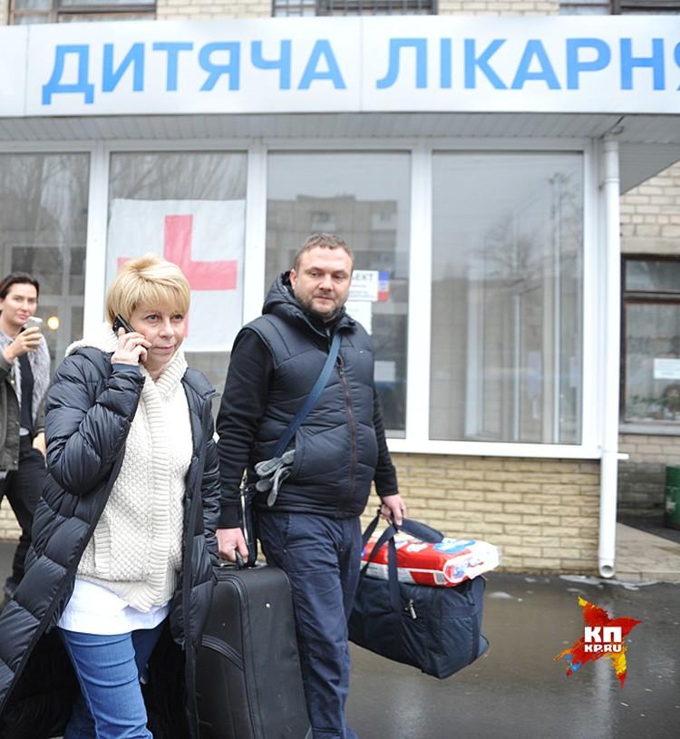 Доктор Лиза с началом войны в Донбассе занялась не политическими воззваниями, а реальным делом