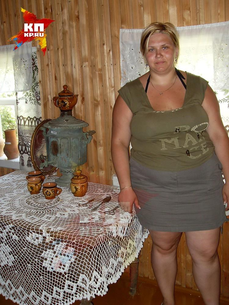 При росте 177 сантиметров Аня весит 140 килограммов