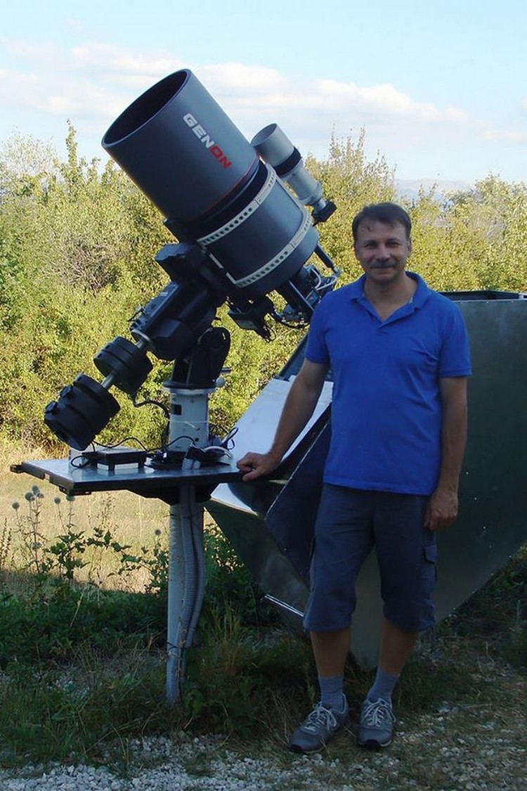 Астроном Геннадий Борисов.