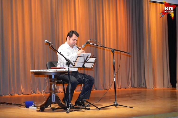 В Липецке прозвучал армянский дудук в исполнении Аргишти