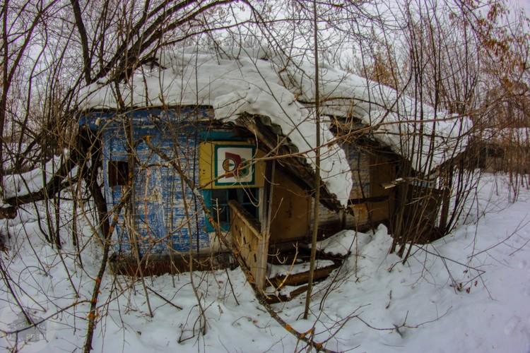Один из корпусов бывшего лагеря. Фото: Дмитрий Солодянкин