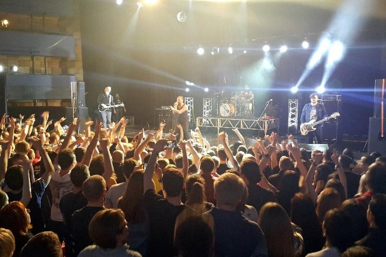 Концерт продолжался более двух часов