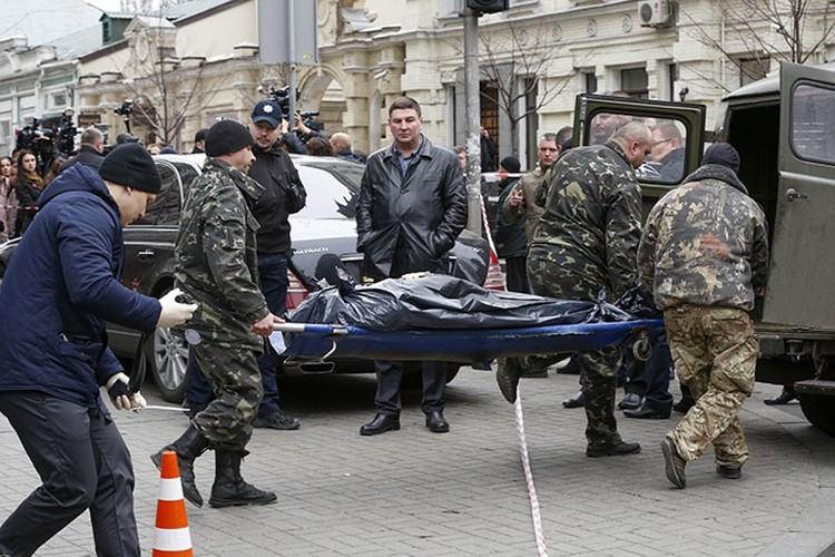 Денис Вороненков был убит 23 марта 2017 года в центре Киева.