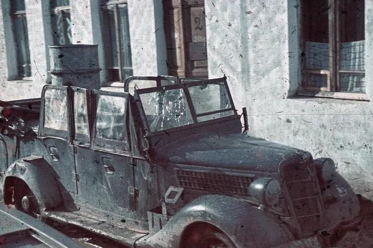 После очередной партизанской вылазки в Севастополе, 1942 год. Фото: bundesarchiv.de