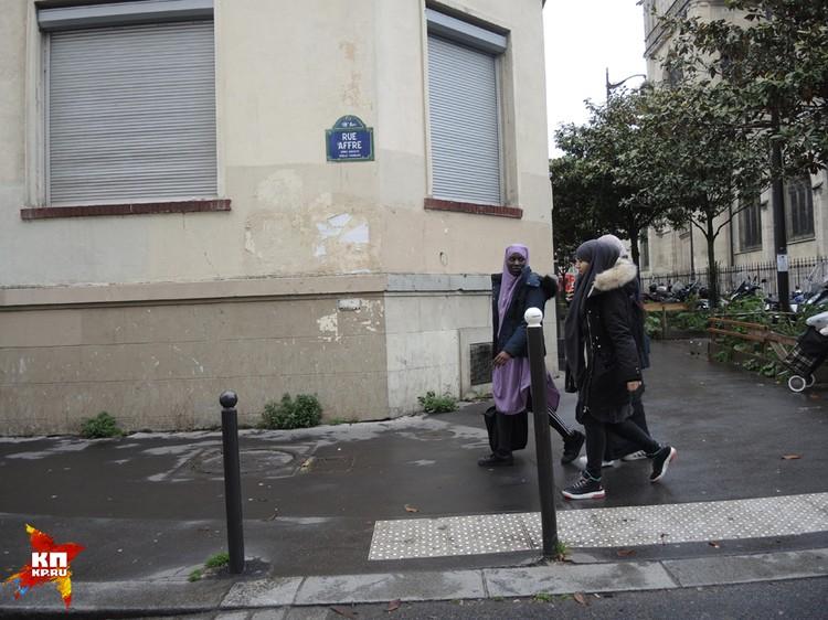 Француженки спешат на избирательные участки