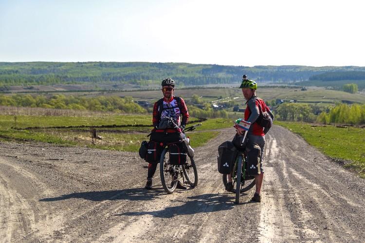 Великое географическое открытие рязанских велосипедистов - мордовские горы.