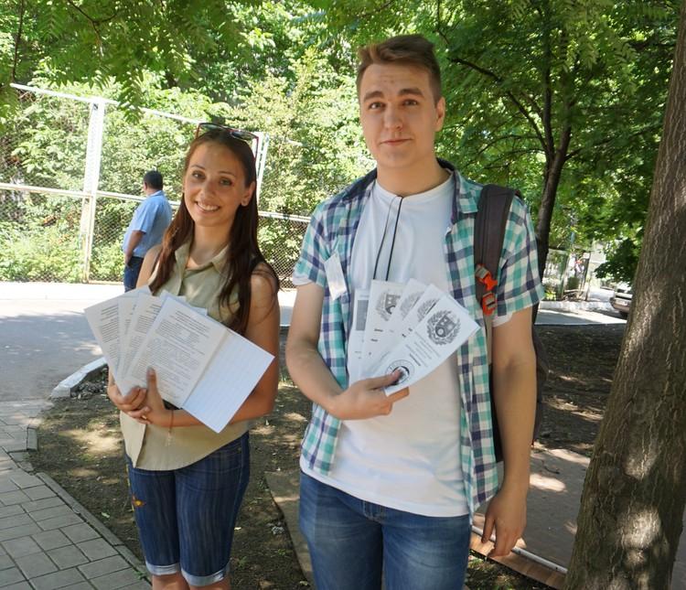 На вопросы новичков готовы ответить волонтеры из числа студентов.