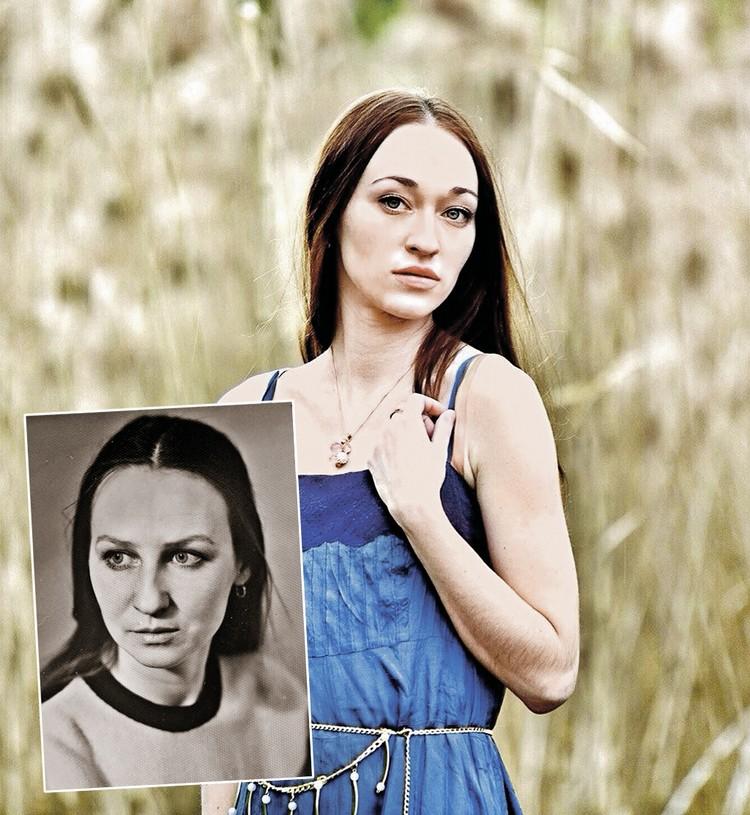 Даша, внебрачная дочь актера, удивительно похожа на мать - Лидию Ганичеву (на фото внизу).