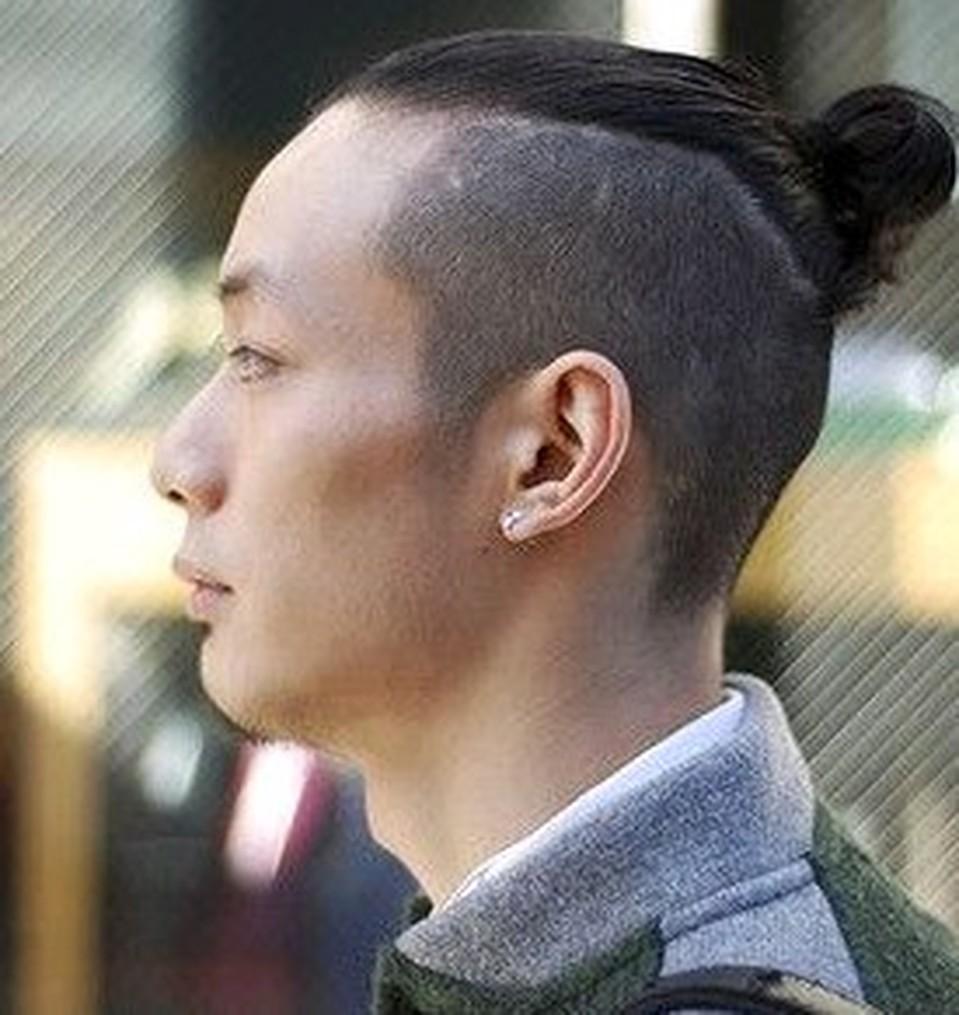 Фото причесок в стиле самурай