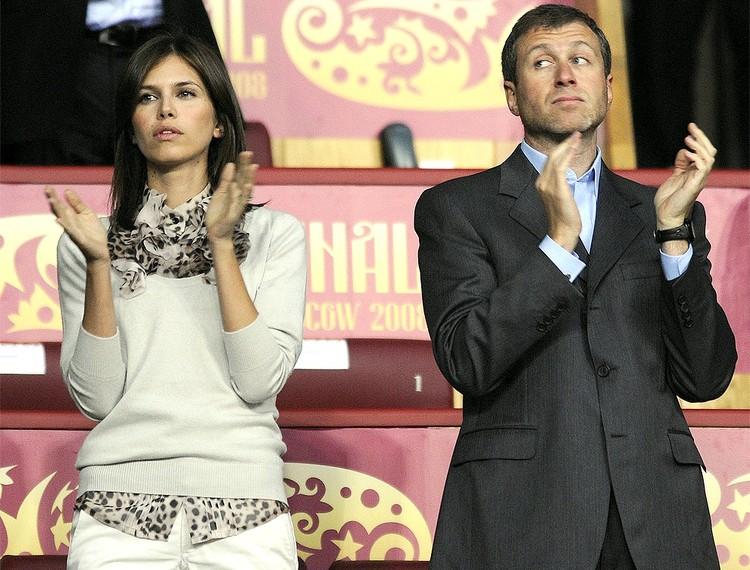 2008 год, пара на Финале футбольной Лиги чемпионов УЕФА в Москве.