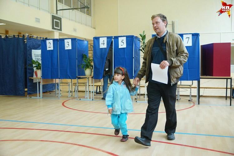 На выборы пришло 37% населения Свердловской области