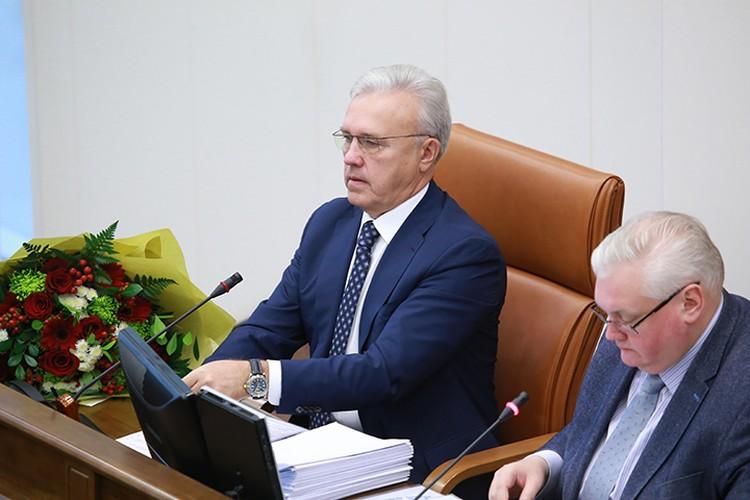 Александр Усс занимал должность спикера Заксобрания почти 20 лет