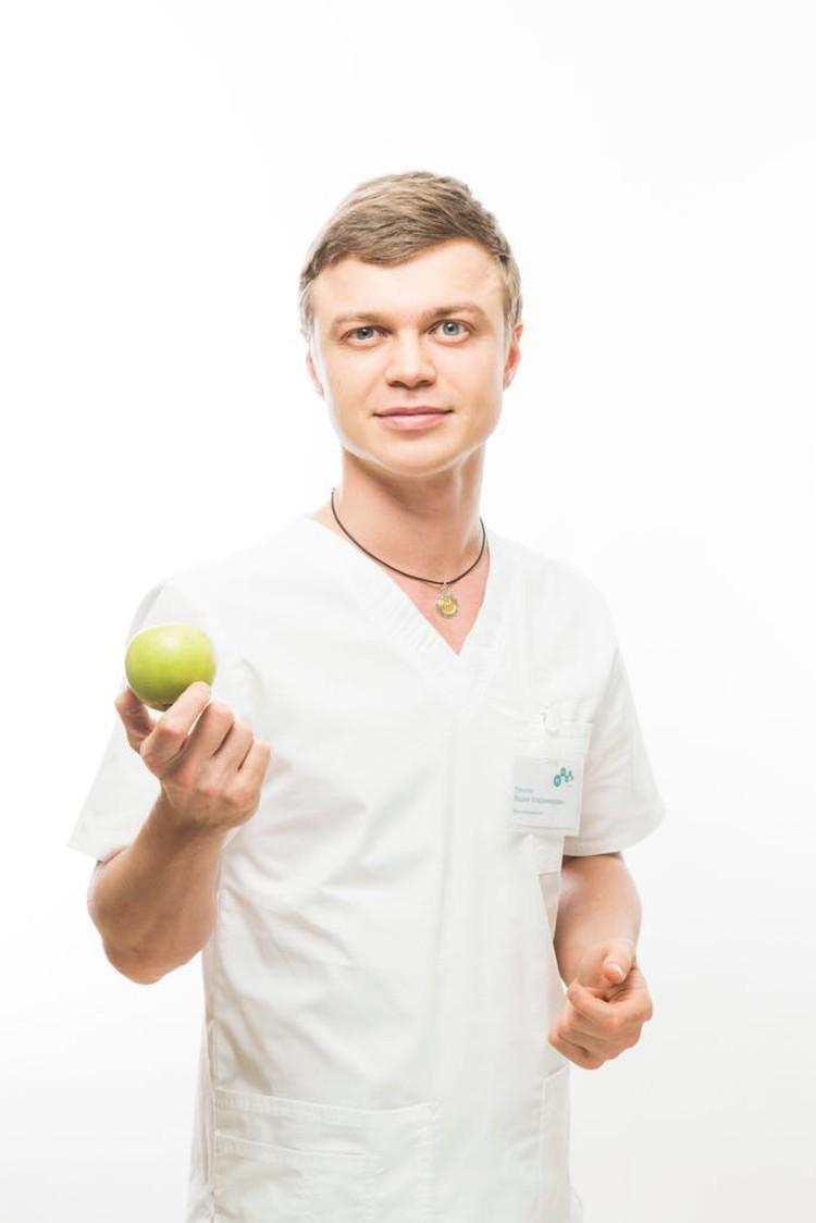 Врач-диетолог Вадим Крылов
