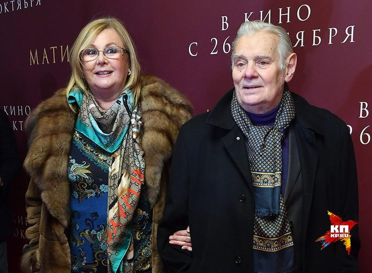 Наталья Селезнева и Владимир Андреев.