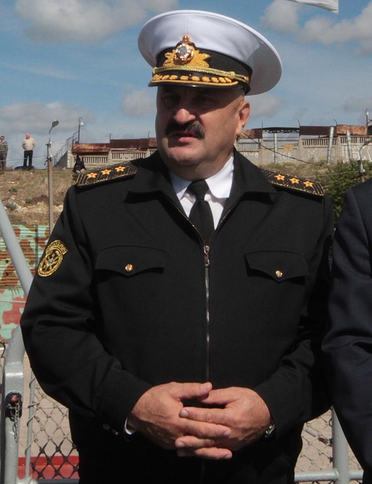До определенного момента Ильин возглавлял Военно-морские силы Украины и постоянно базировался в Севастополе. Фото ТАСС/ Алексей Павлишак