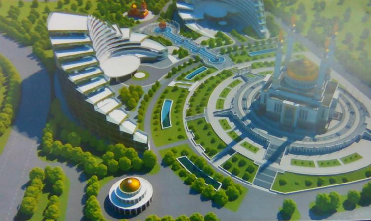"""Вот так, по проекту, должен выглядеть """"Межконфессиональный центр мира и согласия"""""""