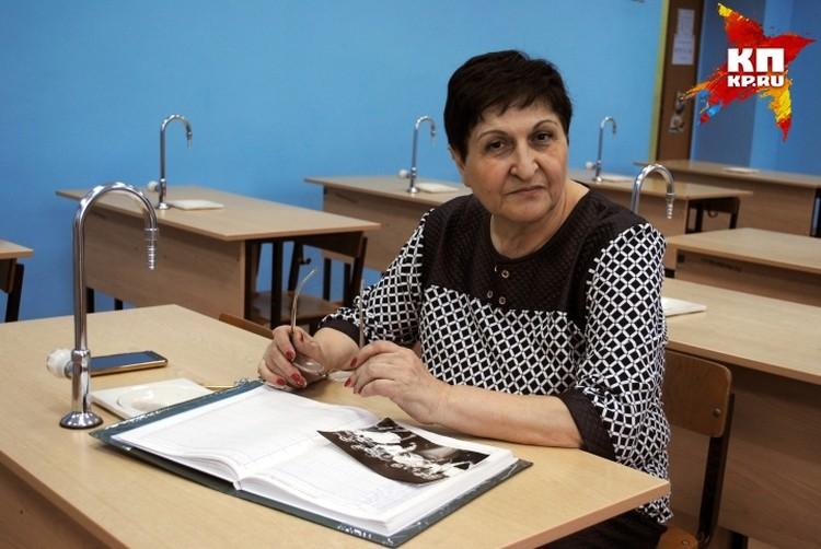 Альвина Петросова знала будущую звезду с пятого класса.