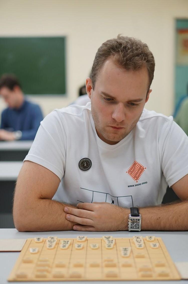 Сергей Лысенко - основатель сообщества сёги в Беларуси. Фото: shogi.by.