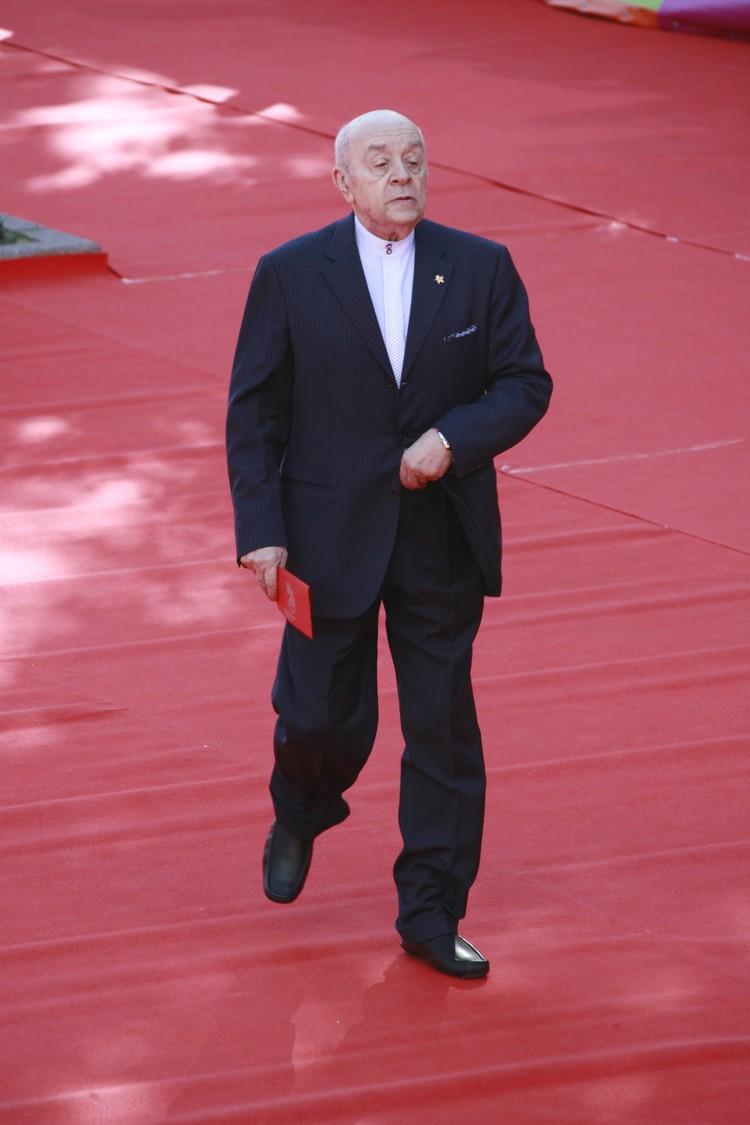 Леонид Броневой на ММКФ-2007.