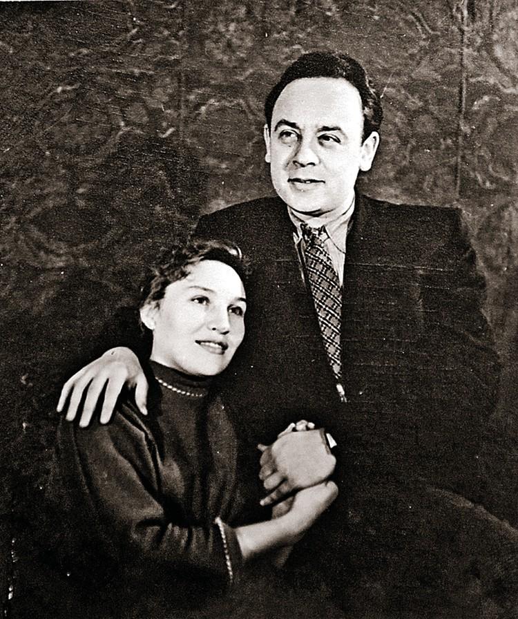 Первой супругой Леонида была актриса Валентина Блинова. Фото: Архив Экспресс газеты