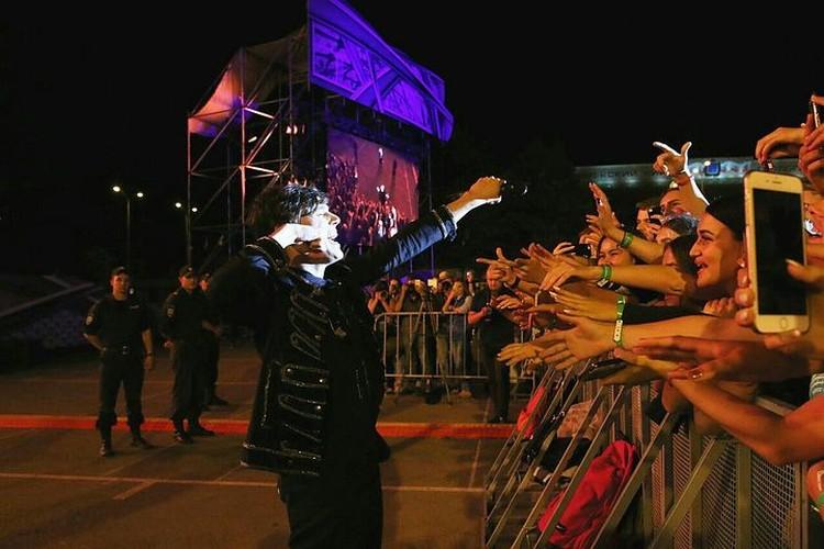 """Праздничный концерт фестиваля """"Поехали!"""" вероятно запомнится первокурсникам этого года на всю жизнь."""