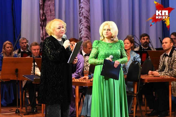 """Книга """"Владимир Мулявин и Лидия Кармальская. Недосказанное..."""" стала великолепным результатом сотрудничества Марины Мулявиной (слева) и музыковеда Ольги Брилон."""
