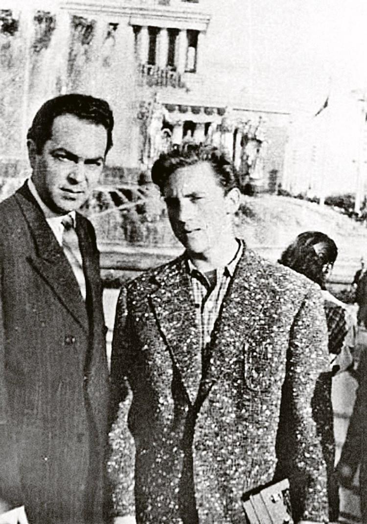 Михаил Яковлев и Владимир Высоцкий.