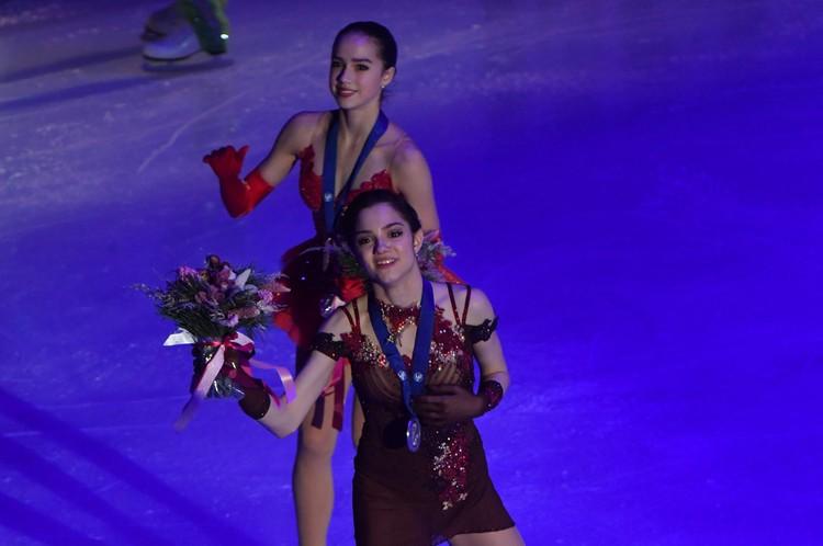 За месяц до Олимпиады стало ясно, что две лучших фигуристки мира - это россиянки Медведева и Загитова.